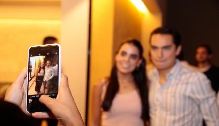 Fiesta de compromiso de Rafa Tobías y Cristy Lorca.
