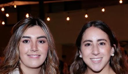 Ana Gaby Motilla y Diana Olvera.