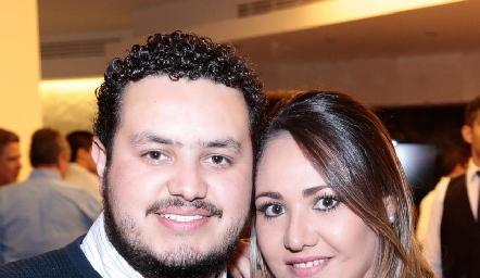 Mauricio Correa y Sofía Castillo.