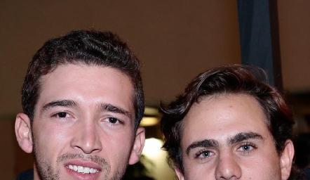 Johan Werge y José Miguel Morales