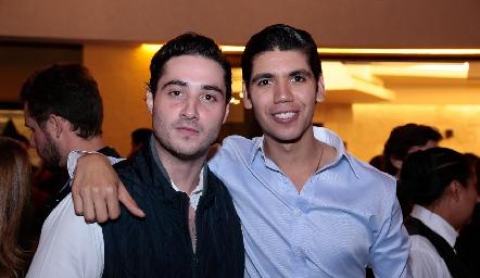 Roberto Zollino y Rafa Tobías.