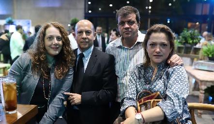 Alejandra de la Maza, Ignacio Salinas, Enrique Michel y Mónica Ramírez.