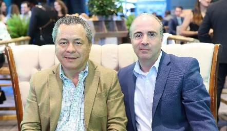 Lisandro Bravo y Erik Peña.