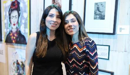María José y Ximena Treviño.
