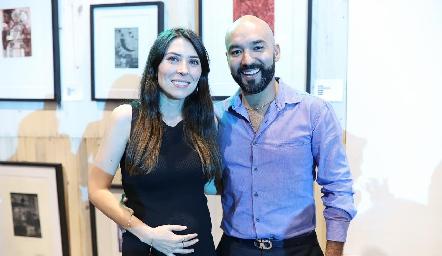 María José Treviño y Alejandro del Castillo.