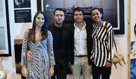Lulú Álvarez, Alfonso César, Ricardo de la Torre y Sofía Milán.