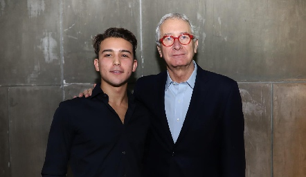 Con Javier Solórzano.