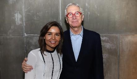 Lorena Torres y Javier Solórzano.