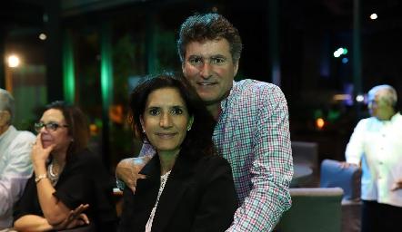 María Dolores Hernández y Jorge Gómez.