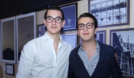 Mauricio Piña y Alejandro Anaya.