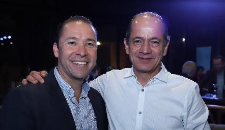 José Ramón Martínez y Elías Abud.