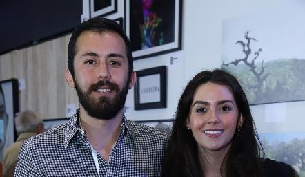 Daniel y Vicky Álvarez.