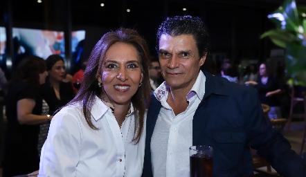 Mercedes y Fernando Cifuentes.