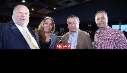Gerardo Zamanillo, Isabel Jaquez, Lisandro Bravo y José Manuel Lázaro.
