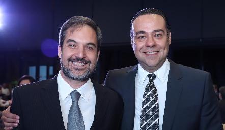 Milenko Pérez y Alejandro Torres.