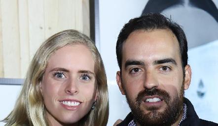 Ingrid Velasco y Rafael Olmos.