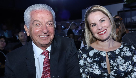 Carlos Quintanilla y Amaranta Valdés.