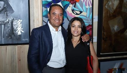 Alejandro y Marilupe Aguillón.