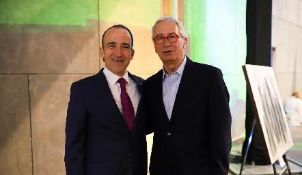 Ernesto López Clareón y Javier Solórzano.