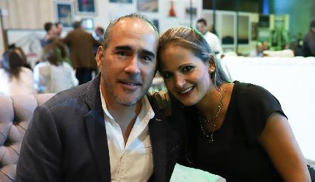 Héctor Zúñiga y Marissa Medina.