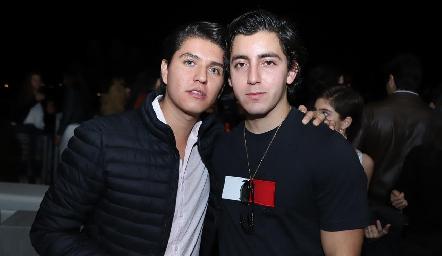 Santiago Perafán y Víctor Barrales.