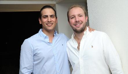 Andrés Morales y Armando de la Parra.