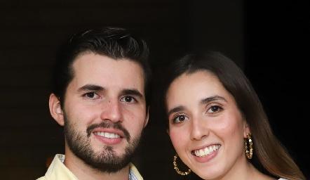 Federico y Valeria Alcalde.