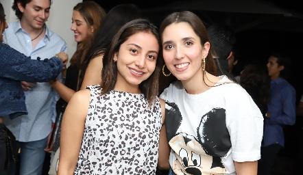 Rebeca Zamora y Valeria Alcalde.