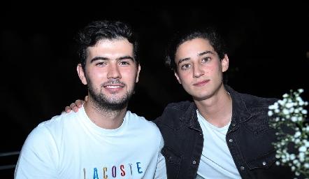 Mauricio Pérez y Santiago Rodríguez.