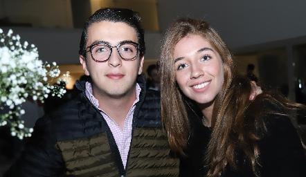 Alejandro Anaya y Priscila Martínez.