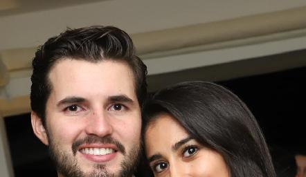 Federico Alcalde y Ximena Abud.