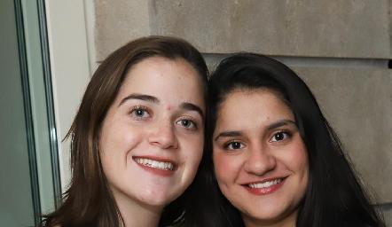 María Meade y Marcela Duque.