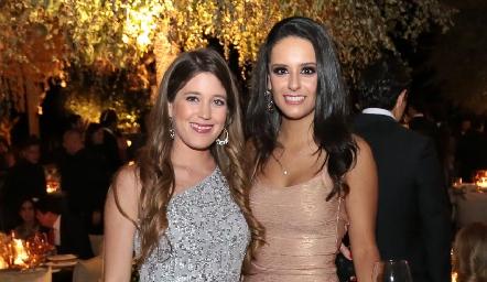 Araceli Palau y Paulina Díaz De León.