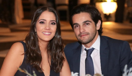 Cristina Rivero y Ernesto Zárate.