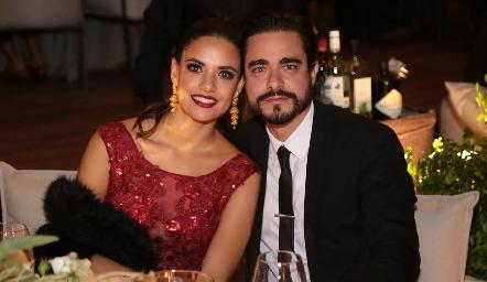 Marcela Díaz Infante y José Luis Villaseñor.