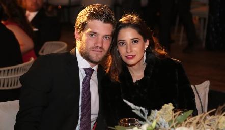 José Manuel Hernández y Daniela Yamín.