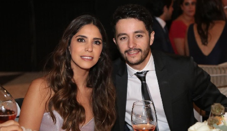 Adriana Estrada y Juan Carlos Dibildox .