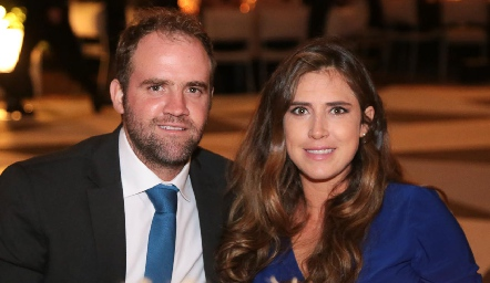 Rodrigo Aranda y Carmelita Berrueta.