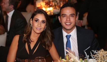 Ximena Mirabal y Toño Méndez.