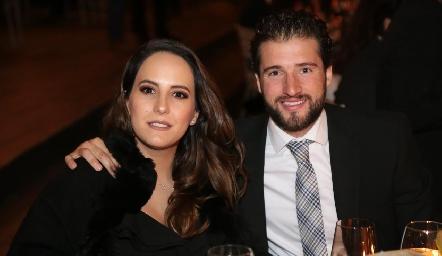 Adriana Salinas y Juan José Aranda.