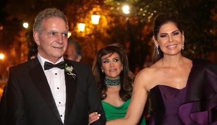 Daniel Dauajare y Martha Díez Gutiérrez de De la Rosa.
