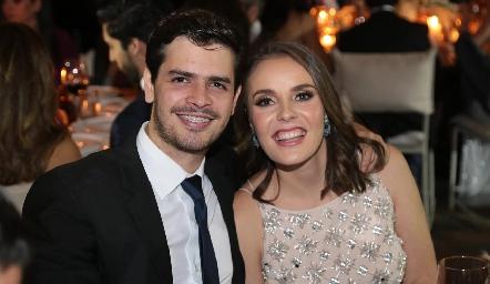 Luis Torres y Tere Ledezma.