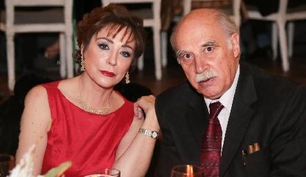 Beatriz Dauajare y Guillermo Zollino.