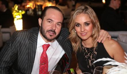 Santiago Zamanillo y María Torres.