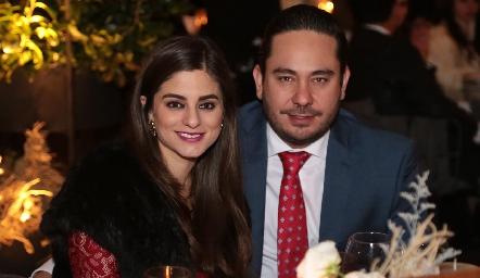 Verónica Romero y Ángel Torres.