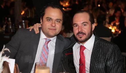 Ernesto Madrigal y Santiago Zamanillo.