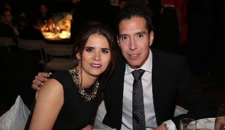 Fernanda Zárate y Segio García.