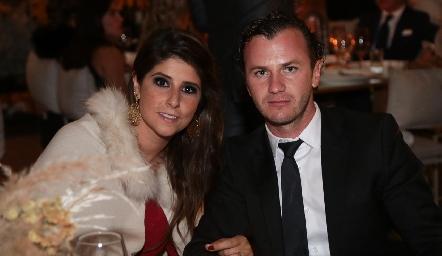 Fernanda Solorzano y Andrés Meade .