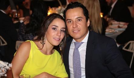 Ximena Castillo y Luis de la Rosa.