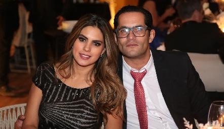 Bárbara Berrones y Fernando Rojo.
